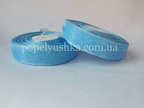Стрічка органза 2 см голуба