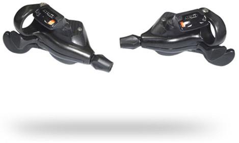 Ручки переключения SUN RACE M90 лев+прав инд. 9-k триггер черн