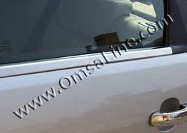 Нижня окантовка вікон (8 шт, нерж) - Ford Mondeo 2014+ рр.