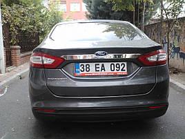 Хром планка над номером (нерж) - Ford Mondeo 2014+ рр.