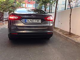 Кромка багажника (нерж) - Ford Mondeo 2014+ рр.