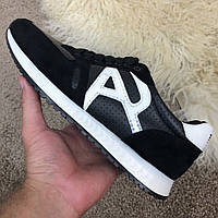 Emporio Armani AJ Sneakers Black/White, фото 1