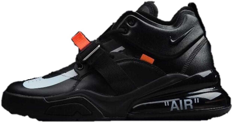 c1ce81be Мужские кроссовки Off-White x Air Jordan 1 x Nike Air Force 270 Black (