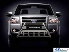 Кенгурятник WT003 (нерж) - Ford Ranger 2007-2011 гг.