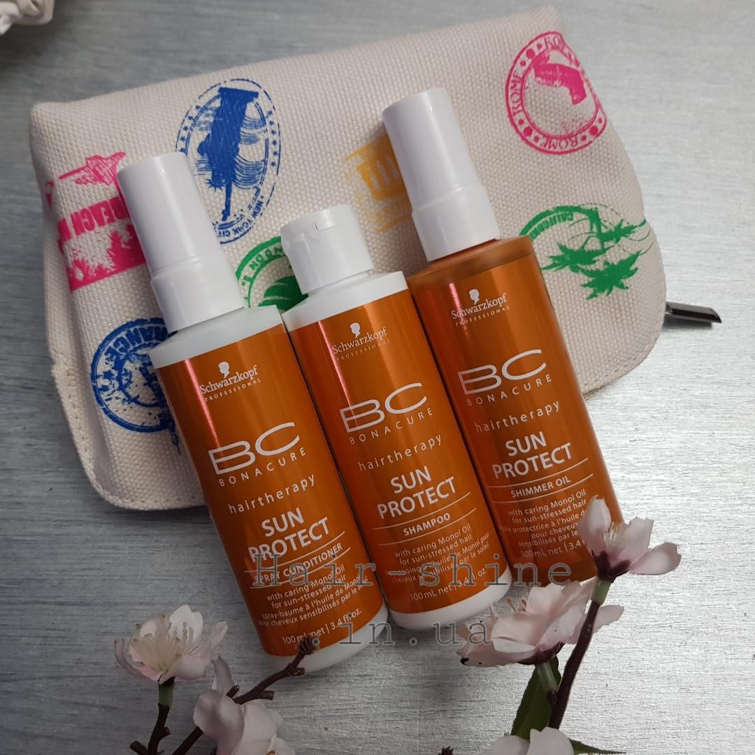 Набір для захисту волосся від сонця Schwarzkopf Professional BC Bonacure Hairtherapy Sun Protect Kit