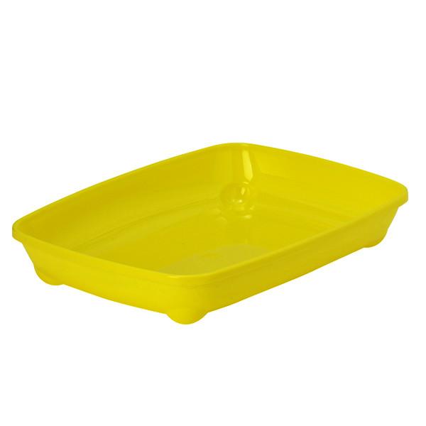 Туалет Moderna Arist-O-Tray для котят, 27.9х37х6.2 см лимонный