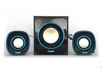 Акустические колонки HAVIT HV-SK450  black\blue