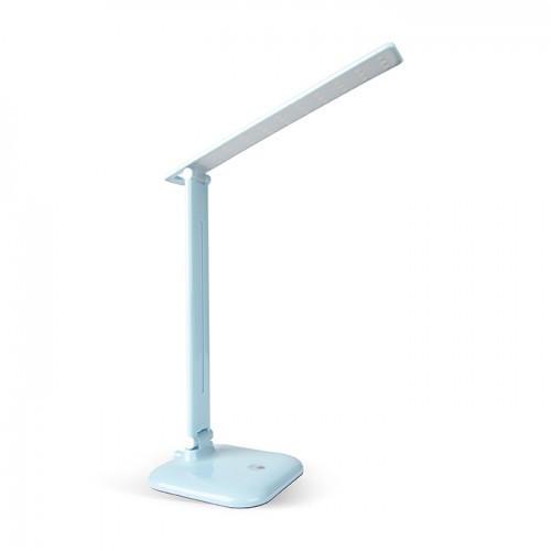 Настольная лампа Feron DE1725 голубая 24230