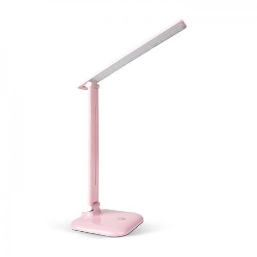Настольная лампа Feron DE1725 розовая 24231