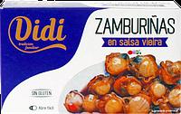 Гребешки морские Didi Zamburians en salsa Vieira 120 ml