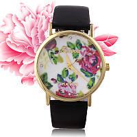 Geneva Platinum женские  наручные часы цветы и камни