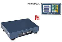Весы торговые напольные беспроводные WiFi 100 кг, усиленная платформа. Ваги товарнi 100 кг бездротові