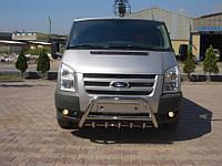 Кенгурятник WT003 (2006-2014, нерж.) - Ford Transit 2001-2014 гг.