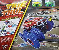 Трек канатный Trix Trux 2 машинки, машинка на верёвках, машинки Трикс Тракс, канатный трек, детский Track, фото 1