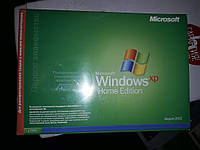 Диск и книжка Microsoft Windows XP Home Edition