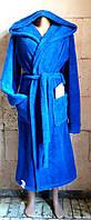 Купить Халат женский Зима Махра Однотонный  распродажа  махровый с капюшоном