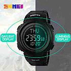 • Оригинал! Skmei(Скмей)1231 Black  Compass | Cпортивные часы с компасом!, фото 5
