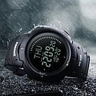 Cпортивные часы Skmei (Скмей) 1231 Black с компасом, фото 4