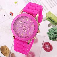 Geneva Кварцевые силиконовые женские наручные часы унисекс