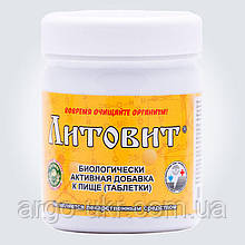Литовит базовый таблетки 280 шт Арго (очистка организма, минералы, микроэлементы, иммунитет, холестерин)