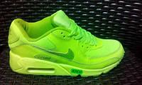 Кроссовки Nike Air Max 90 найк беговые салатовые nike air max 90