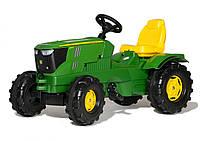 Педальный трактор Farmtrac John Deere 6210R Rolly Toys 601066