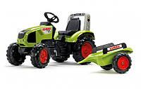 Педальный трактор с прицепом Claas Falk 1011AB, фото 1