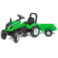 Педальный трактор с прицепом Land Master Falk 3083AD