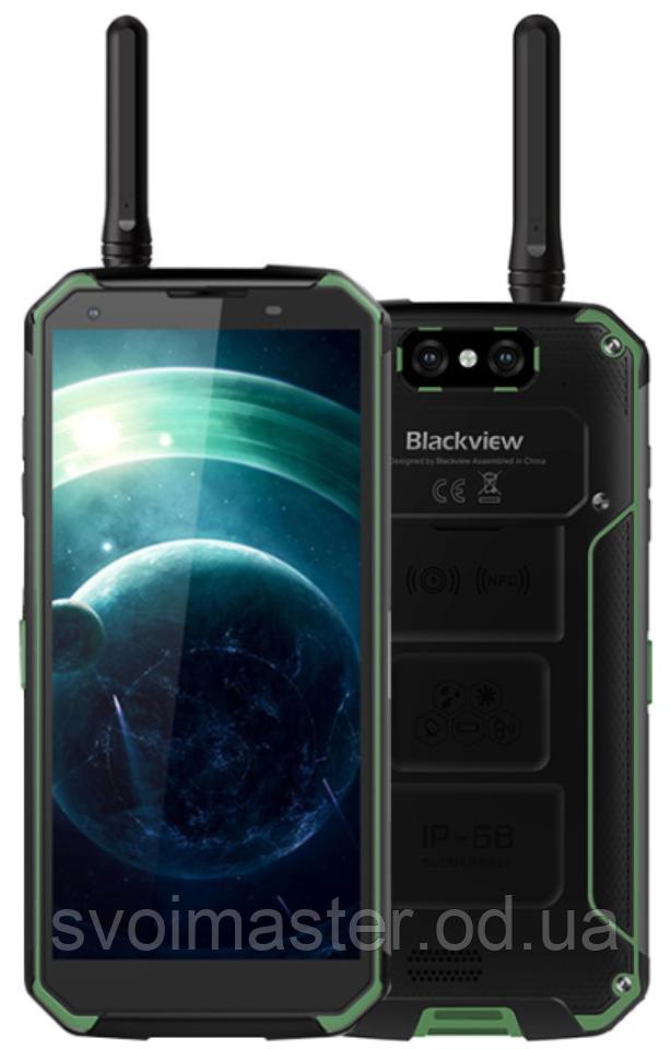 "Blackview BV9500 Pro green IP68 6/128 Gb, 5.7"", Helio P23, 3G, 4G, РАЦИЯ, фото 1"