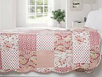 Покрывало, розовое, в стиле пэчворк, 200*220, eh012