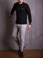 Мужской зимний спортивный костюм Lacoste Black/Grey