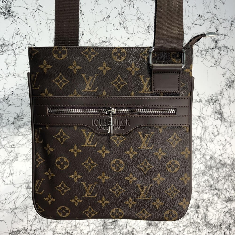 Messenger Louis Vuitton District Pochette Monogram Macassar