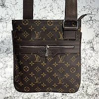 Messenger Louis Vuitton District Pochette Monogram Macassar, фото 1