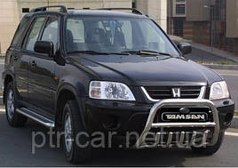 Кенгурятник WT003 нерж.) - Honda CRV 1996-2001 гг.