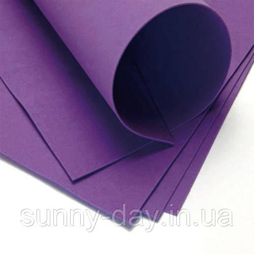 Фоамиран лист (20х30см), індиго