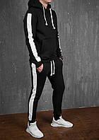 Мужской зимний спортивный костюм E-fort Black/White