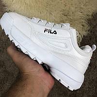 Fila ( Фила ) Disruptor 2 White, (Реплика), фото 1