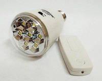 Лампочка аккумуляторная с пультом GDlite GD-5007HP на 7 SMD LED светодиодов, фото 1