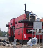 """Промышленный котел на биомассе и отходах древесины """"Комконт СН COMPACT"""" 4000 квт"""