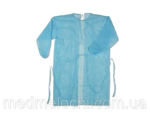 Халат хірургічний Комфорт стерильний, розмір L (Спанлейс)