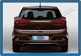 Кромка багажника (нерж.) - Hyundai I-20 2014-2018 гг.