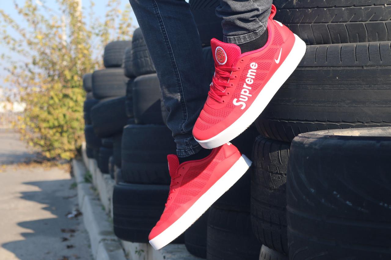 ff1108be Мужские кеды Nike supreme red, цена 1 528 грн., купить в Киеве ...