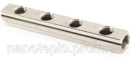 Коллектор ВВ 50 мм (никелированный) Т9 1/2