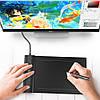 Ультратонкий графический планшет VEIKK S640, фото 4
