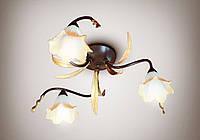 Люстра 3-ламповая, для спальни, для прихожей, для кухни