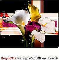"""Картина на холсті """"Квітковий мікс"""" 500*400 мм. Код-08912 Т-19"""