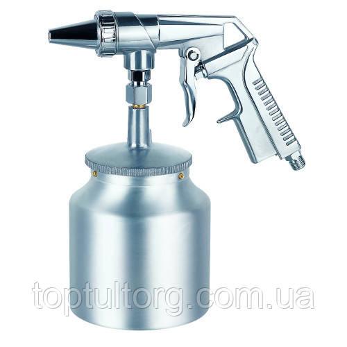 Пистолет пескоструйный пневматический  нижн.метал.бачок  AUARITA PS-4