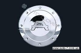 Накладка на бак (хром пласт) - Hyundai Elantra 2006-2011 гг.