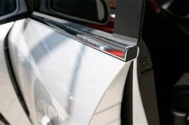 Окантовка вікон (6 шт, нерж.) - Hyundai Santa Fe 2 2006-2012 рр ..