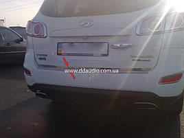 Кромка багажника (нерж) - Hyundai Santa Fe 2 2006-2012 рр ..